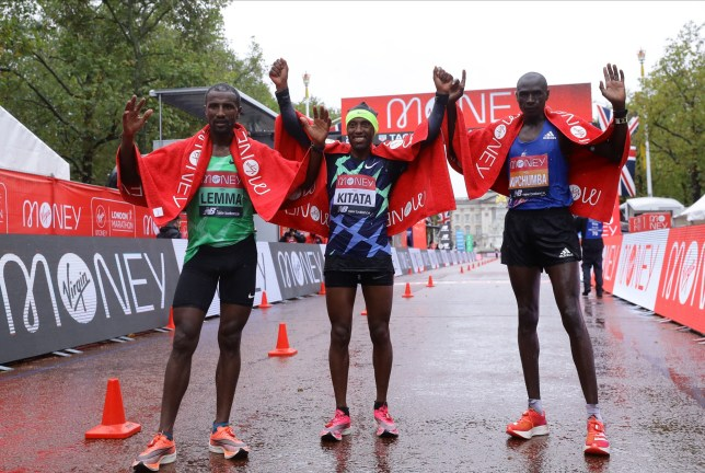 Shura Kitata wins the London Marathon