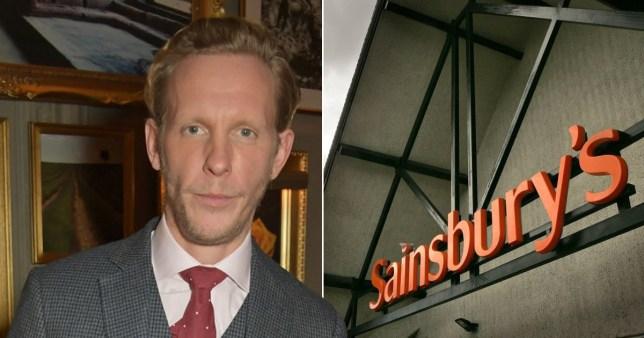 Laurence Fox boycotting Sainsbury's