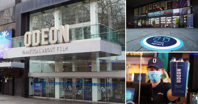 Odeon to only open some cinemas on weekends Rex/PA