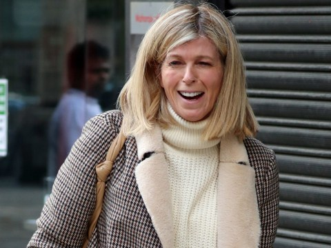 Kate Garraway in good spirits as she heads out after tearing into Donald Trump's 'heartbreaking' coronavirus comments