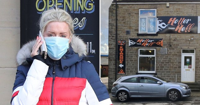 Brogan Hayes, owner of Hotter than Hell in Bradford