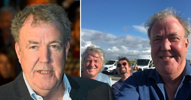 Jeremy Clarkson is not a fan of his The Grand Tour bubble Pics: Getty/Jeremy Clarkson/Instagram