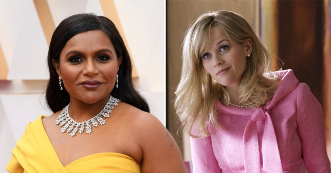 Mindy Kaling have given a update about Legally Blonde 3