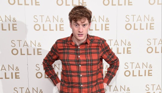 James Acaster on the red carpet
