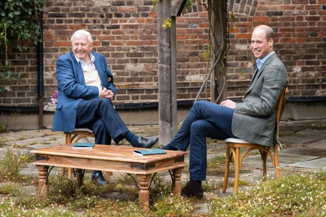 Prince William Sir David Attenborough