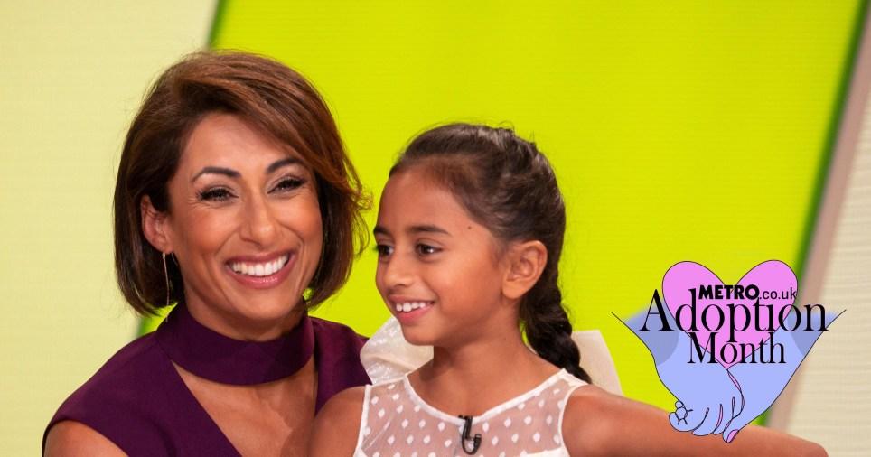 Saira Khan and her daughter Amara