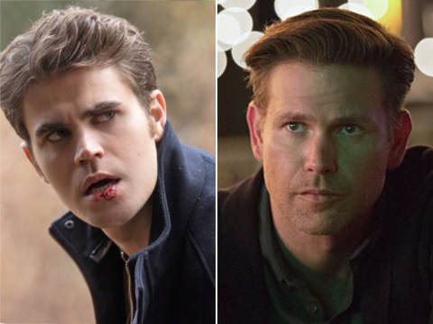 The Vampire Diaries stars Paul Wesley and Matthew Davis clash over Mike Pence during Vice Presidential debate