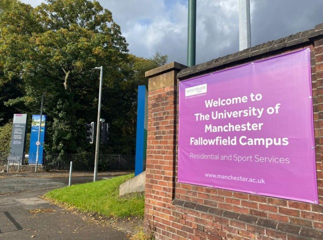 The University of Manchester Fallowfield Campus.