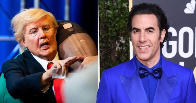 Sacha Baron Cohen feared for his life making Borat 2