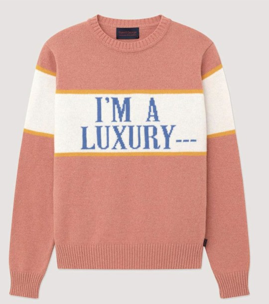 Lady Di's I'm a luxury jumper