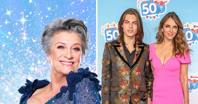 Strictly's Caroline Quentin reveals Liz Hurley support PA|Getty Images