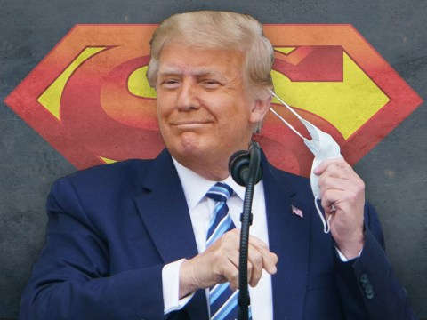 Trump wanted 'to rip open Superman t-shirt after leaving hospital'