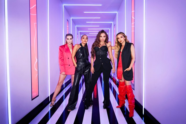 WARNING: Embargoed for publication until 00:00:01 on 24/09/2020 - Programme Name: Little Mix The Search - TX: n/a - Episode: Little Mix The Search - generics (No. n/a) - Picture Shows: Perrie Edwards, Leigh-Anne Pinnock, Jesy Nelson, Jade Thirlwall - (C) BBC - Photographer: Zoe McConnell