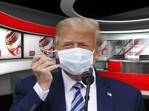 BBC News hit with complaints over 'excessive' coverage on Trump's coronavirus