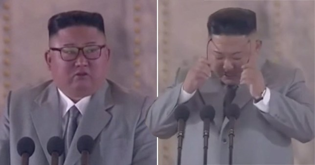 Kim Jong-un sheds tears as he delivers rare apology to North Korea over failings