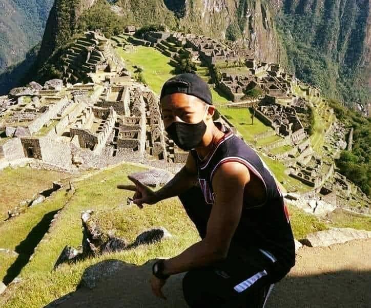 Jesse Katayama at Machu Picchu