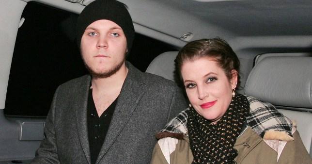 Benjamin Presley Keough and Lisa Marie Presley