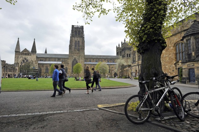 Durham Cathedral Square And Durham University.