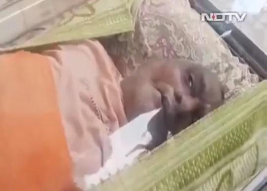 Balasubramanian Kumar dans le congélateur