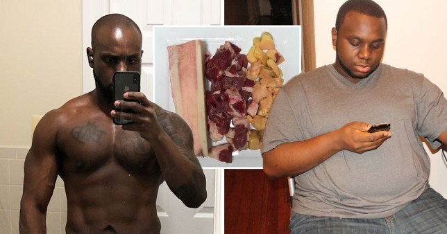 Nurse says he's in the best shape of his life thanks to raw meat diet