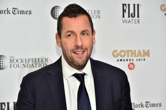 Adam Sandler on the red carpet