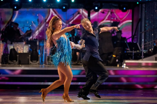 Maisie Smith and Gorka Marquez on Strictly Come Dancing