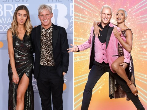 Strictly's Jamie Laing wears his girlfriend's clothes as they 'fit' and 'look better'