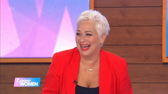 Mandatory Credit: Photo by ITV/REX (10965318j) Denise Welch 'Loose Women' TV Show, London, UK - 19 Oct 2020