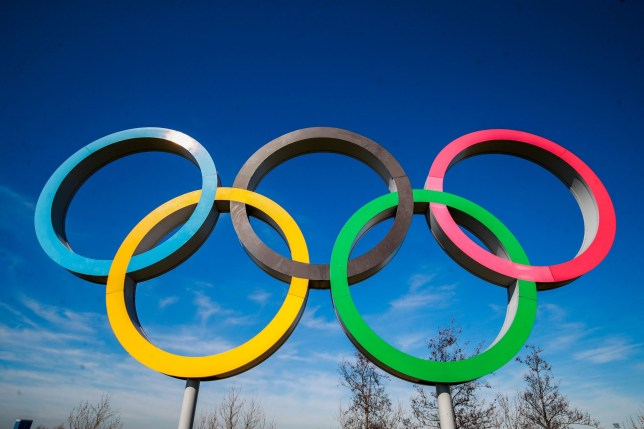 The Olympic Rings at the Queen Elizabeth Park, London (Credits: PA)