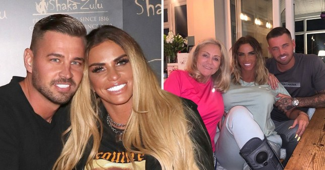 Katie Price 'in race to marry Carl Woods' so terminally ill mum Amy can attend Rex Features
