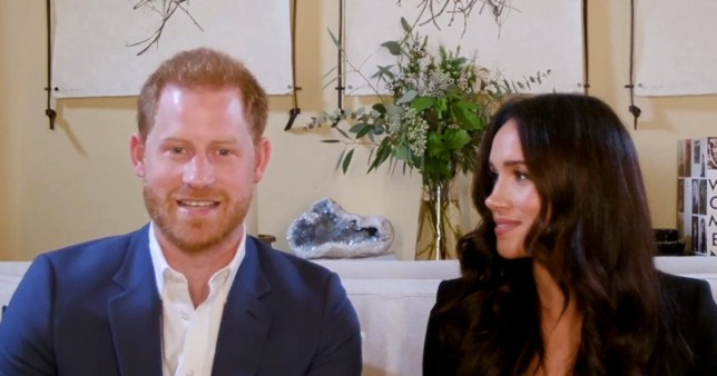 Meghan Markle and prince Harry warned of the dangers of social media.