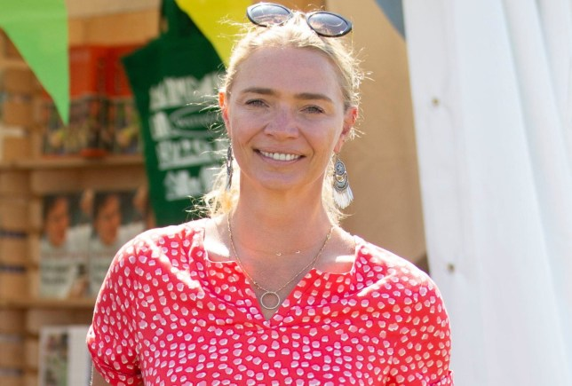 Jodie Kidd at Big Feastival, Kingham, UK - 24 Aug 2019