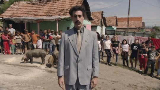 Borat Rudy Giuliani clip 'defended' on TikTok as sequel released 2