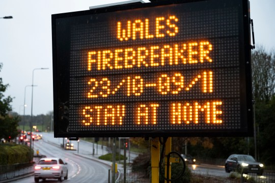 Wales' firebreak will end on November 9 despite new England lockdown 6
