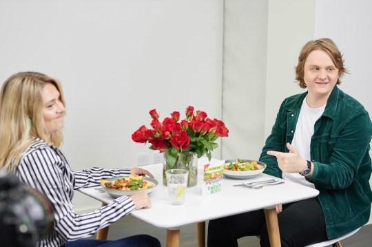 Lewis Capaldi on blind date