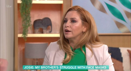 Josie Gibson on This Morning