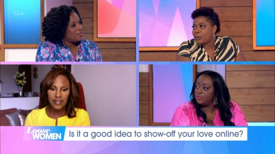 Loose Women today had an all-Black panel