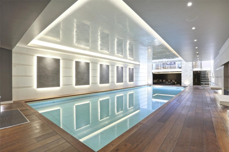 swimming pool in most expensive house to be listed since lockdown