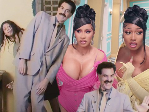 Borat gets down to Cardi B and Megan Thee Stallion's WAP as he joins TikTok and it's everything