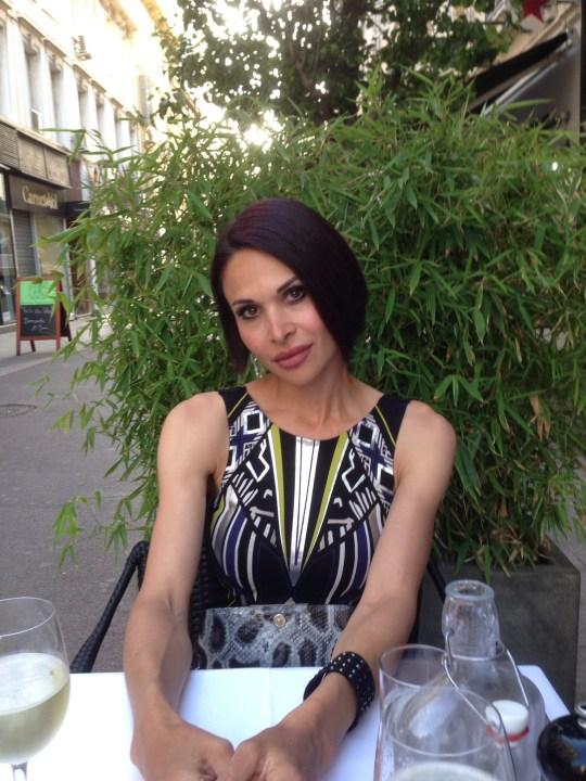 Andrianna Christofi (Picture: Andrianna Christofi/Twitter)
