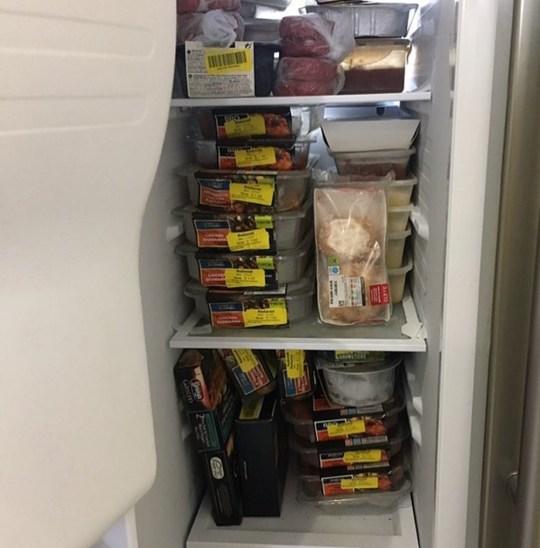 Liane's freezer (PA Real Life/Collect)