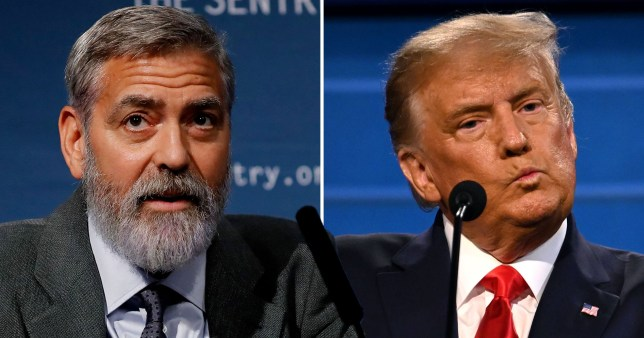 George Clooney on the 'dumbest thing' about Donald Trump PRI_169765067