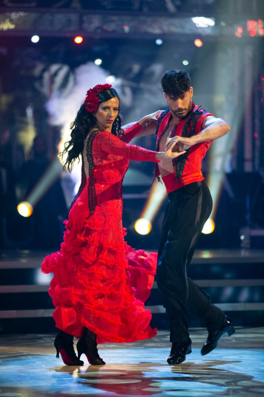 Ranvir Singh on Strictly Come Dancing with Giovanni Pernice