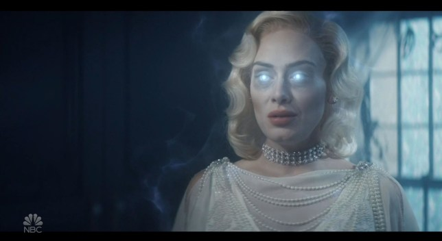 Adele as a ghost on snl