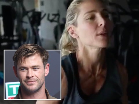 Chris Hemsworth's wife Elsa Pataky gives him competition with seriously intense workout