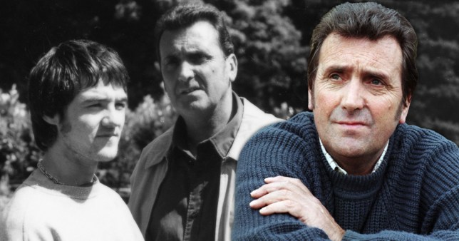 Editorial use only Mandatory Credit: Photo by ITV/REX (10042042aj) Ned Glover, as played by Johnny Leeze ; and Roy Glover, as played by Nicky Evans 'Emmerdale' TV Show UK - Aug 2000 Emmerdale, is a British ITV long running soap opera, known as Emmerdale Farm until 1989, set in Emmerdale, a fictional village in the Yorkshire Dales. It was created by Kevin Laffan and was first broadcast on 16 October 1972. It was originally produced by ITV Yorkshire and is still filmed in their Leeds studios.