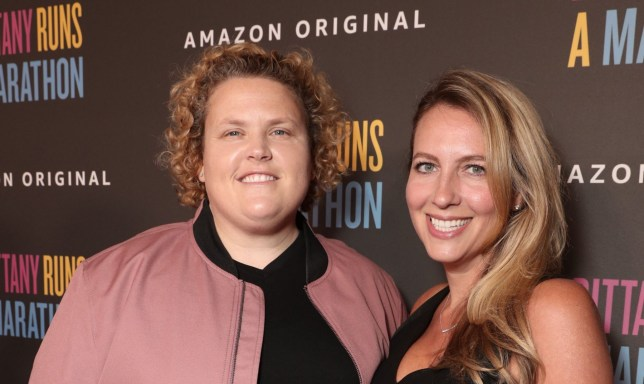 Mandatory Credit: Photo by Todd Williamson/January Images/REX (10362858n) Fortune Feimster and Jacquelyn Smith 'Brittany Runs A Marathon' film premiere, Arrivals, Regal L.A. LIVE, Los Angeles, USA - 15 Aug 2019