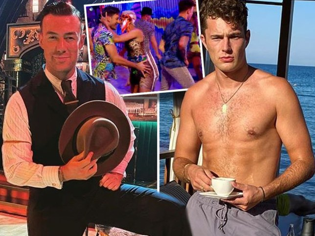 Curtis Pritchard's Strictly Come Dancing lookalike revealed after fans convinced they saw him on show