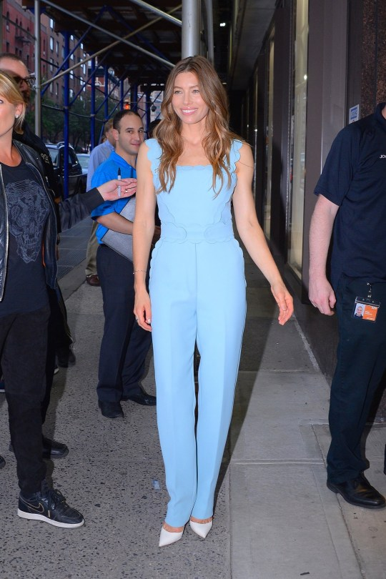 Jessica Biel NEW YORK, NY - AUGUST 15: Jessica Biel seen out and about in Manhattan on August 15, 2018 in New York City. (Photo by Robert Kamau/GC Images)
