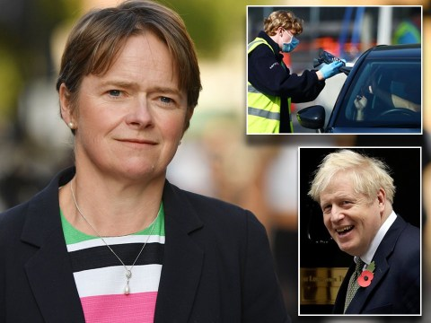 Boris Johnson has 'full confidence' in Test and Trace chief amid calls for her to be sacked